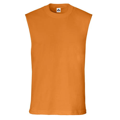 604a22fbb Muscle Tank Tops Mens Alstyle 1308 Sleeveless Tees Customize Orange